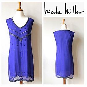 Nicole Miller Artelier Beaded Tunic/Dress